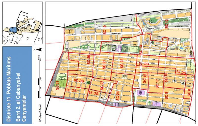 Barrio 11.2: Cabanyal-Canyamelar