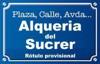Alqueria del Sucrer (calle)