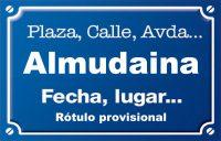 Almudaina (calle)