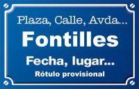 Fontilles (calle)