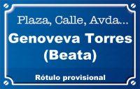Beata Genoveva Torres (calle)