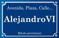 Alejandro VI (calle)
