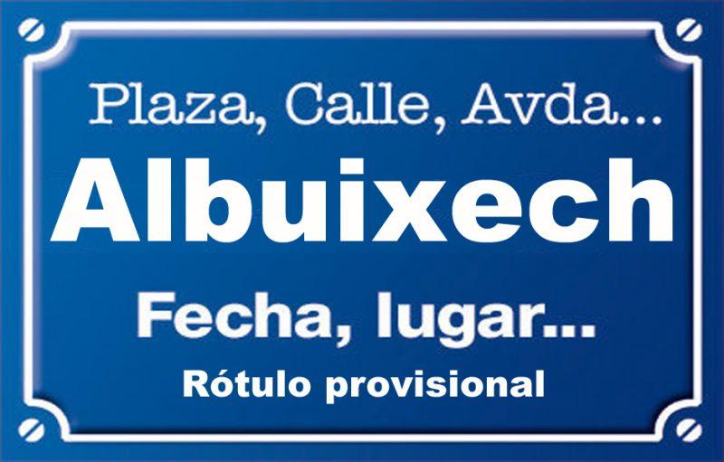 Albuixech (calle)