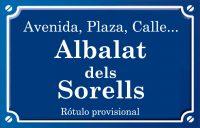 Albalat dels Sorells (calle)