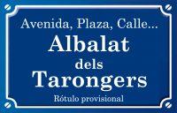 Albalat dels Tarongers (calle)