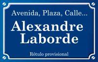 Alexandre Laborde (calle)