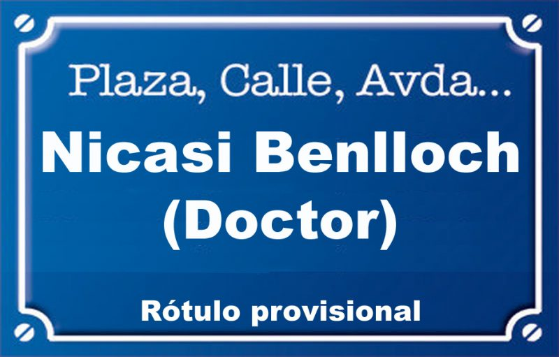 Doctor Nicasi Benlloch (calle)