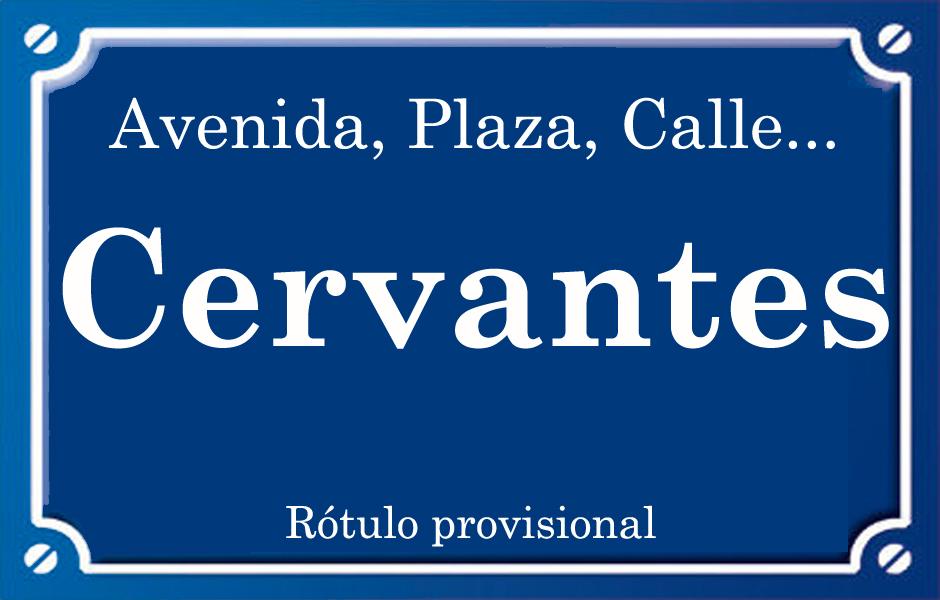 Cervantes (calle)