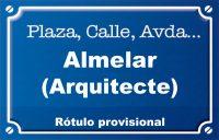 Arquitecte Almenar (calle)