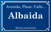 Albaida (calle)