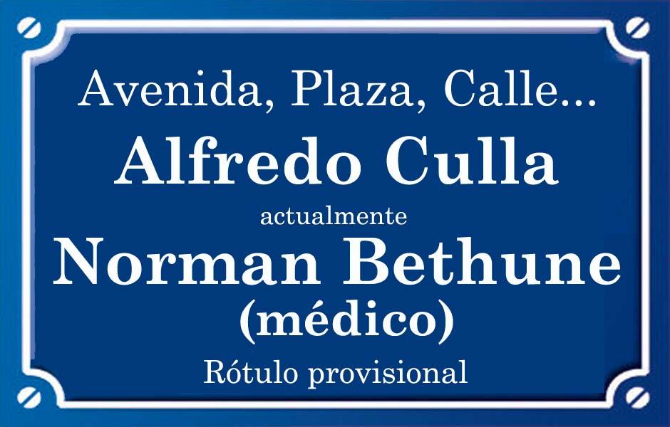 Alfredo Culla (calle)