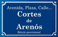 Cortes d'Arenós (calle)