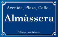 Almàssera (calle)