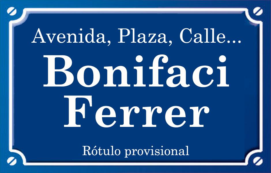 Bonifaci Ferrer (calle)