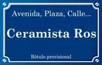 Ceramista Ros (calle)