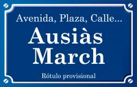 Ausiàs March (Avenida)