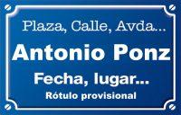 Antonio Ponz (calle)
