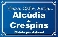 Alcúdia de Crespins (calle)