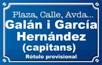 Capitans Galán i García Hernández (plaza)