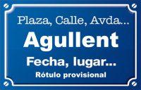 Agullent (calle)