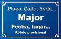 Major (plaza)