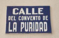 Convento de la Puridad (calle)