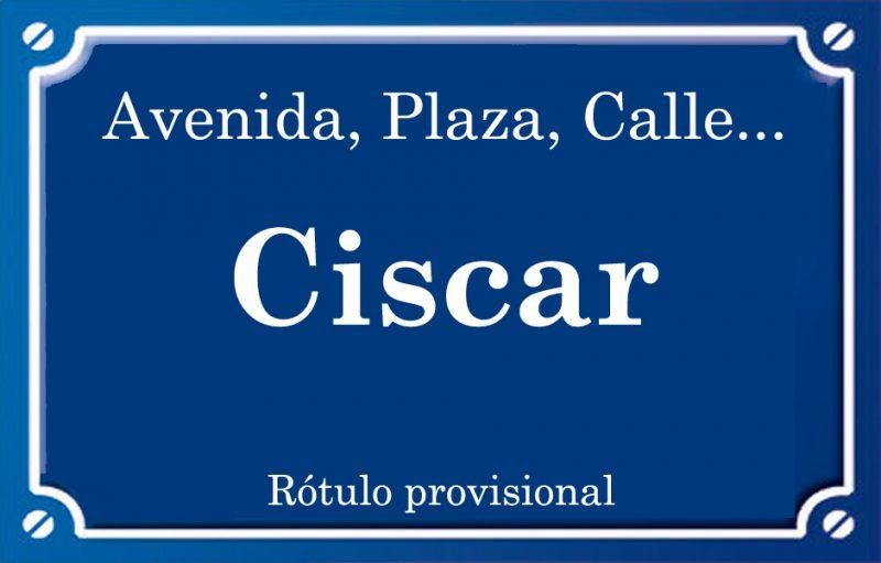 Ciscar (calle)