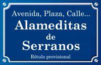 Alameditas de Serranos (paseo)
