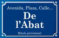 Abat (calle)