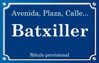 Batxiller, el (calle)