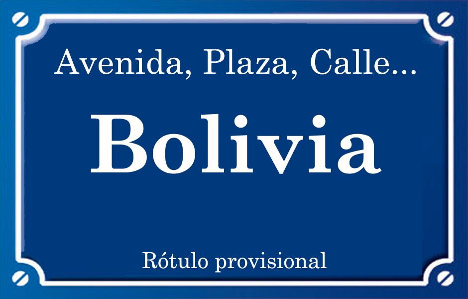 Bolivia (calle)