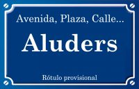 Aluders (calle)