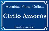 Ciril Amorós (calle)