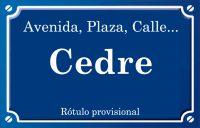 Cedre (plaza)