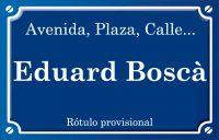 Eduard Boscà (calle)
