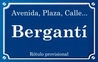 Bergantí (calle)