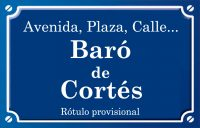 Baró de Cortes de Pallás (plaza)