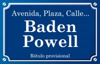 Baden - Powell (plaza)