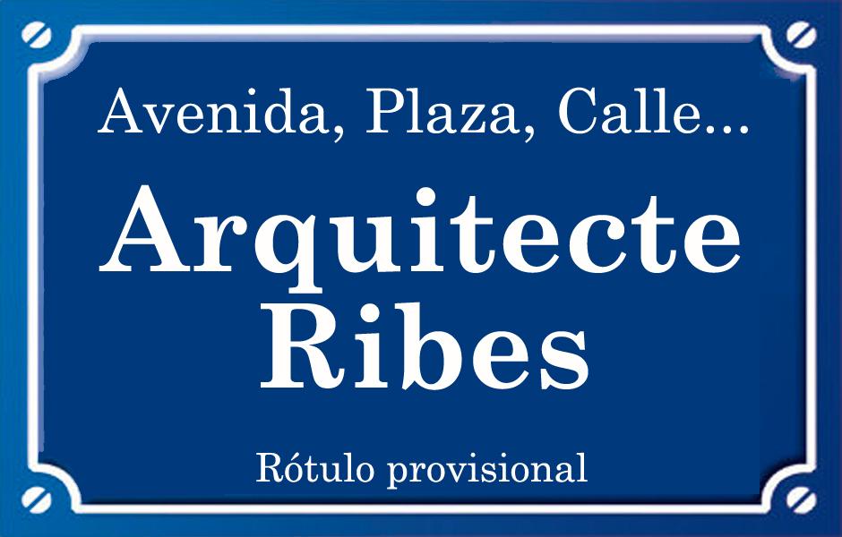 Arquitecte Ribes (calle)