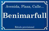 Benimarfull (plaza)