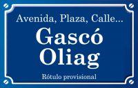 Gascó Oliag (calle)