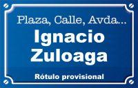 Ignacio Zuloaga (calle)