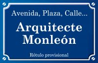 Arquitecte Monleón (calle)