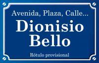 Dionisio Bello (calle)