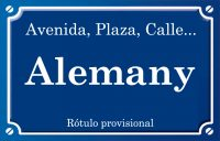 Alemany (calle)