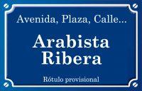 Arabista Ribera (calle)