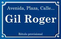 Gil Roger (calle)