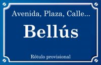 Bellús (calle)
