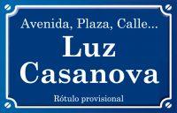 Luz Casanova (calle)