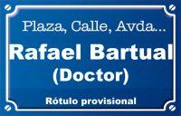 Doctor Rafael Bartual (calle)